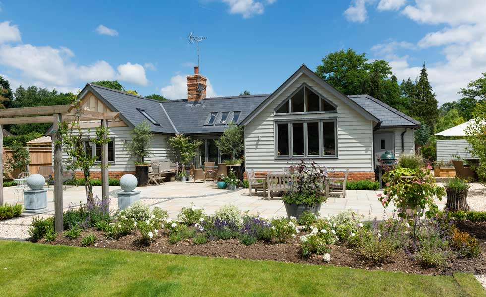 Stunning Single Storey Oak Frame Home in Surrey